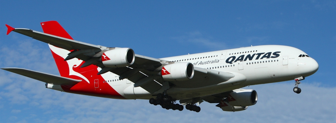 Qantas Carries Out A Historical Non-stop Flight From Australia To UK