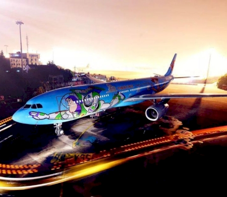 Disney Toy Story Airplane Takes Off In China