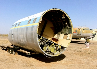 Where Airplanes Go When They Die