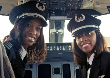 African-American Female Flight Crew Make History