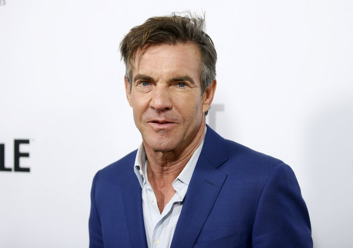 "Dennis Quaid poses at a screening of Crackle's first original scripted drama from Sony's streaming network ""The Art of More"" at Sony Pictures Studios in Culver City, California, October 29, 2015. REUTERS/Danny Moloshok"