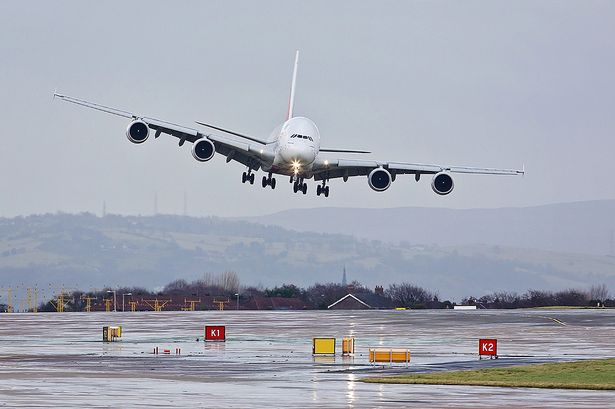 UK crosswind landing