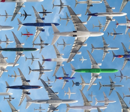 Air Traffic: 18 Incredible Photos From All Around The World