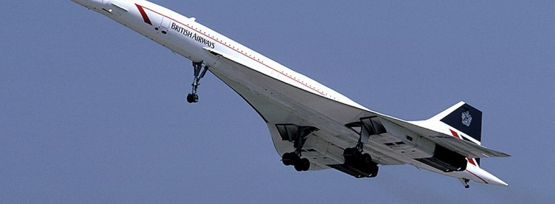 The Arrival And Departure Of Concorde. Part 1