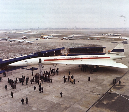 The Arrival and Departure of Concorde. Part 2