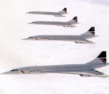 The Arrival And Departure Of Concorde. Part 3