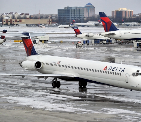 Over 1900 Flights Canceled Over A Snowstorm In The US