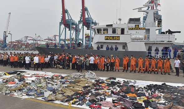 Lion Air Crash Remains