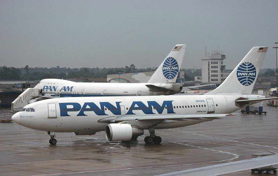 Pan Am's Airbus A310.