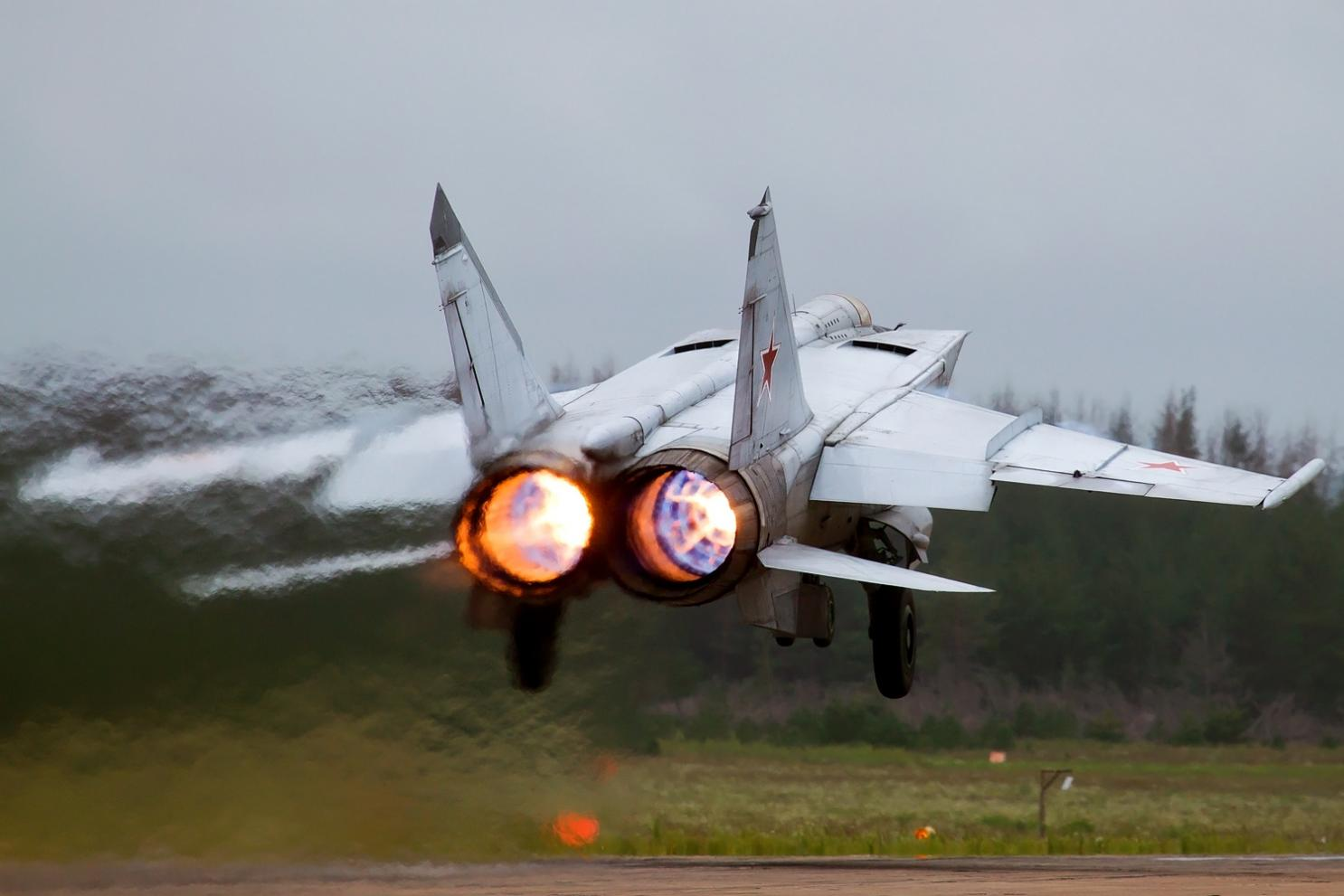 MiG-25. The Fastest Fighter Jet