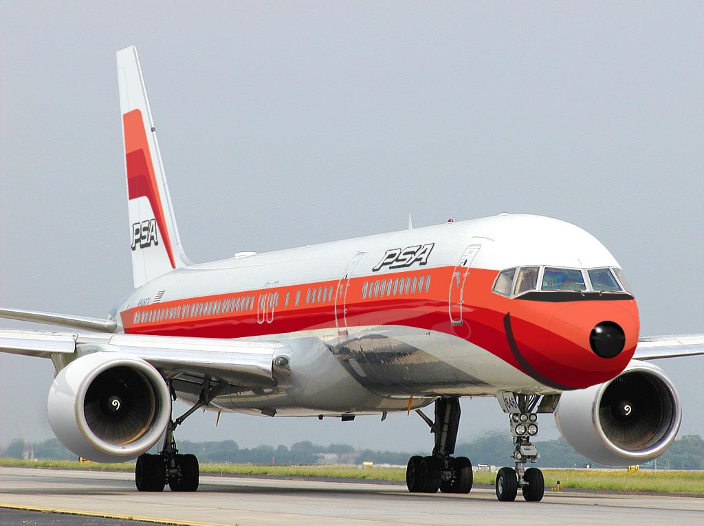 Pacific Southwest Airlines Boeing 757