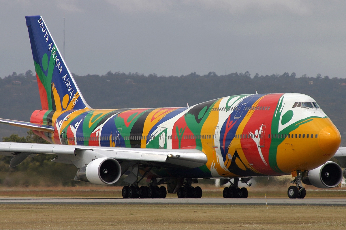 South African Airways Ndizani Boeing 747
