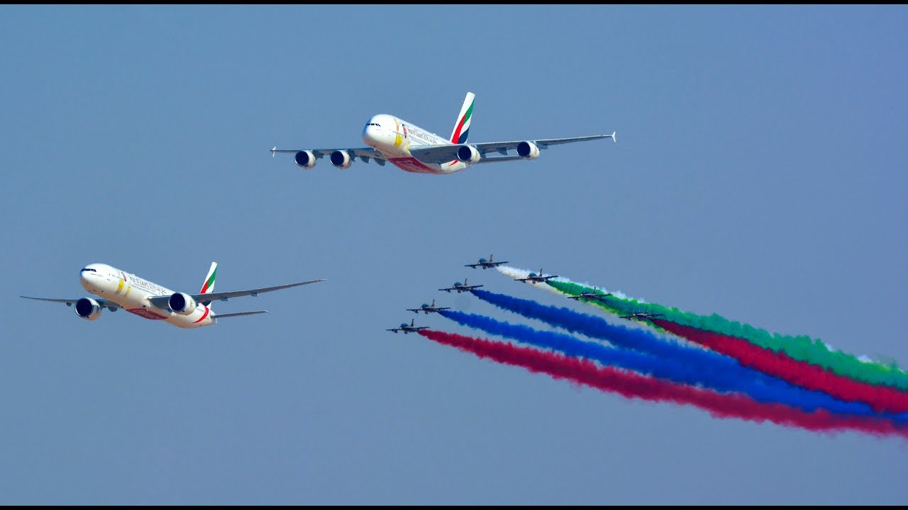 The Dubai Air Show is usually a battlefield between Airbus and Boeing