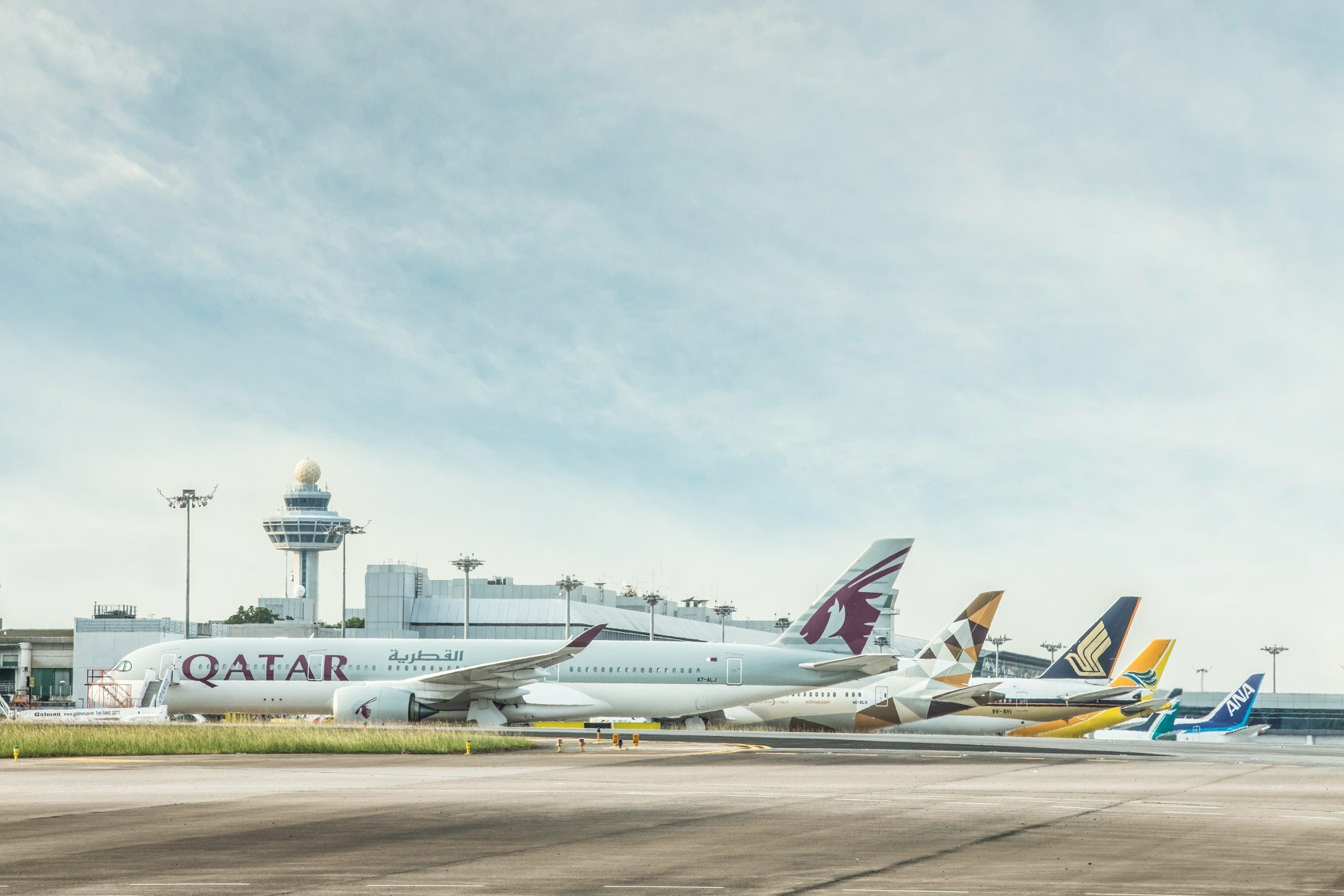 Airlines at Singapore Changi Airport