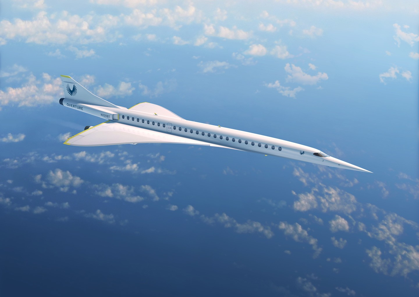 Boom Aviation Supersonic Aircraft