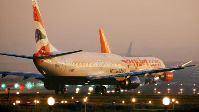 British Airways and easyJet, a low-cost carrier