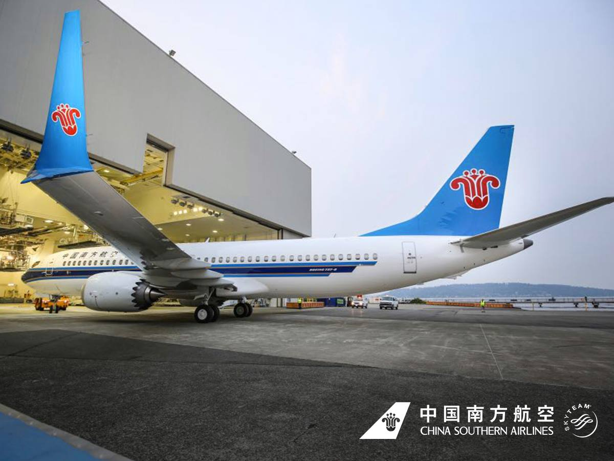China Southern Airlines is one of the biggest Boeing 737 MAX 8 operators