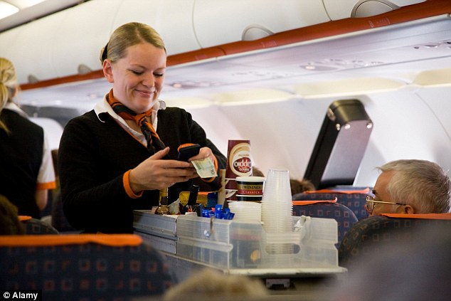 Low-cost carriers like EasyJet make a lot of money with sales on board aircraft