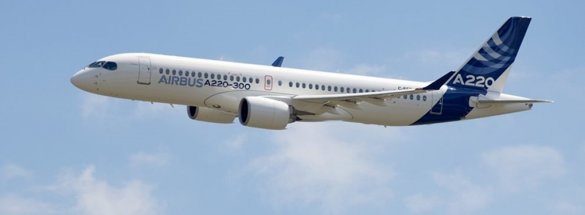 BREAKING| Airbus introduces Bombardier C Series jet named A220