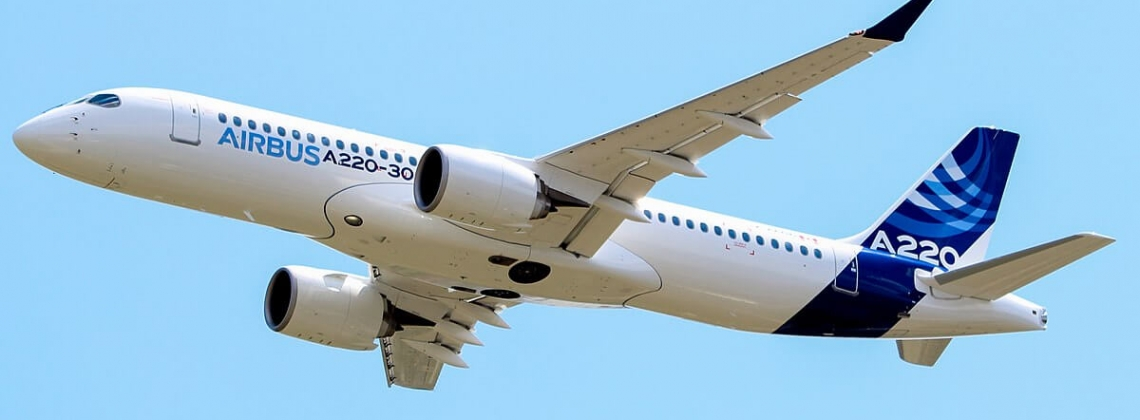 Airbus finally firms first A220 deals on its own