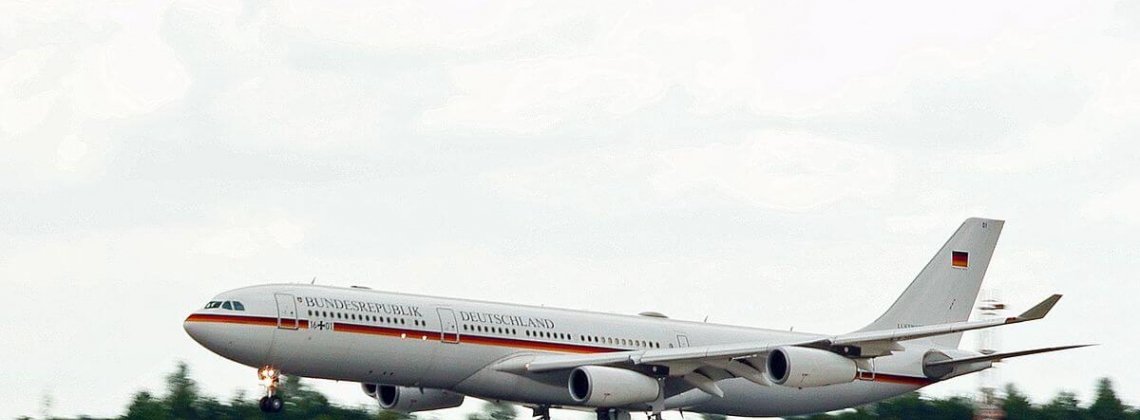 German government places firm order for three ACJ350 XWB