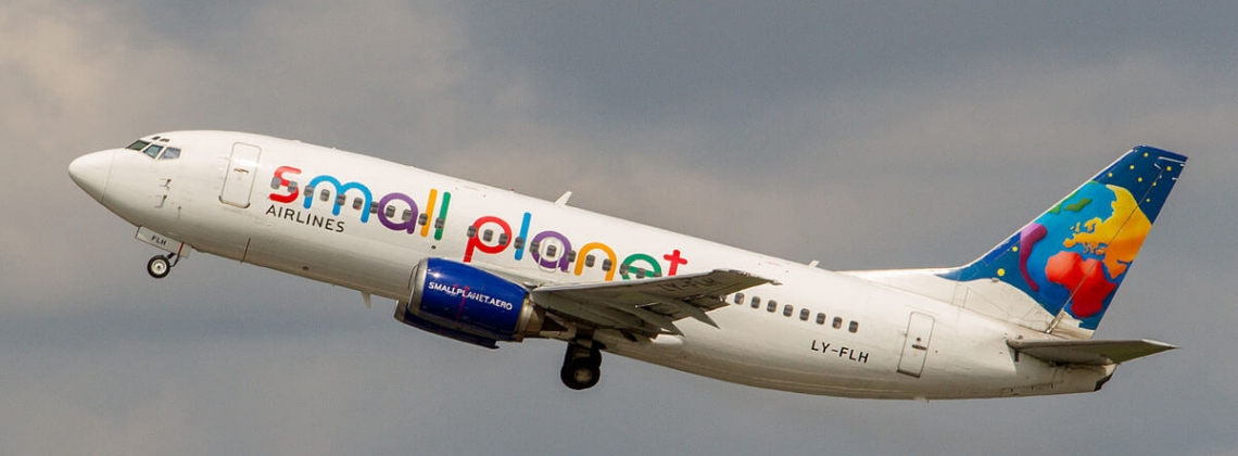 Small Planet Airlines plane detained in Lithuanian airport
