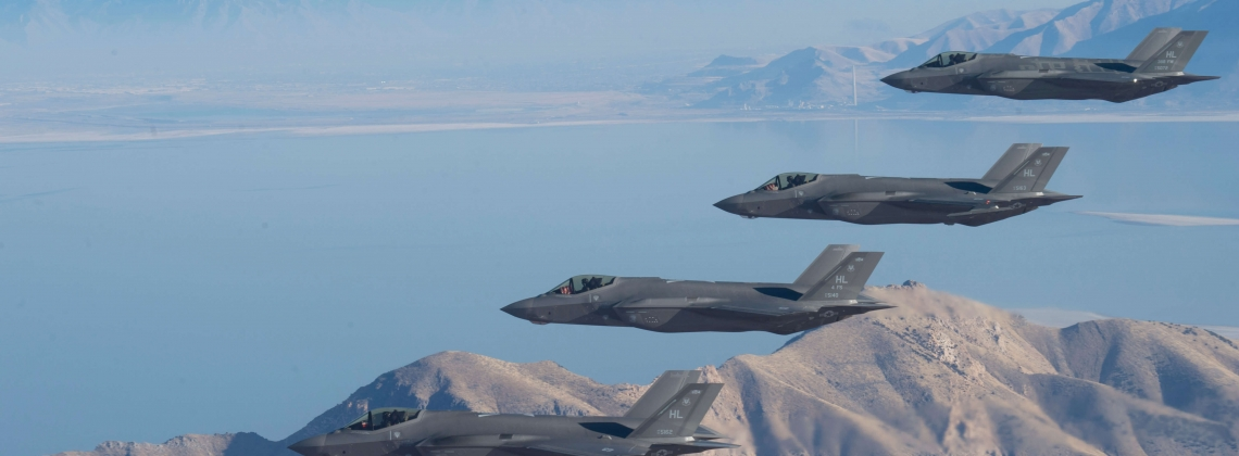 The US Air Force prepares to fight its own F-35s