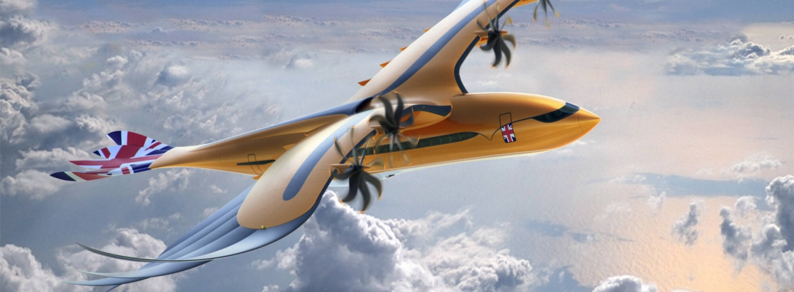 """Airbus` new eagle-inspired sustainable """"Bird of Prey"""""""