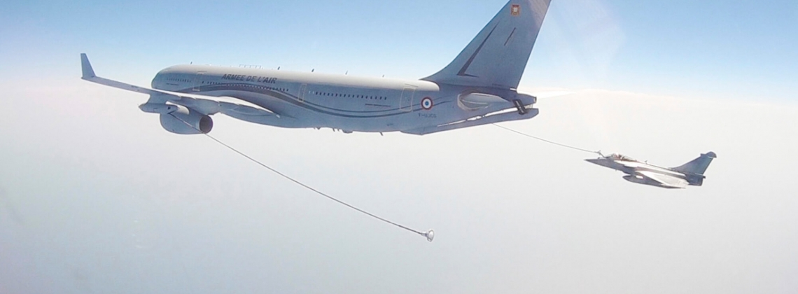 """First mission for the French A330 """"Phénix"""""""