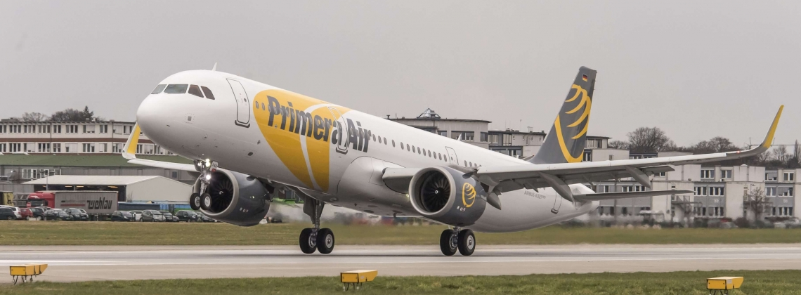 First A321neo delivered to Primera Air