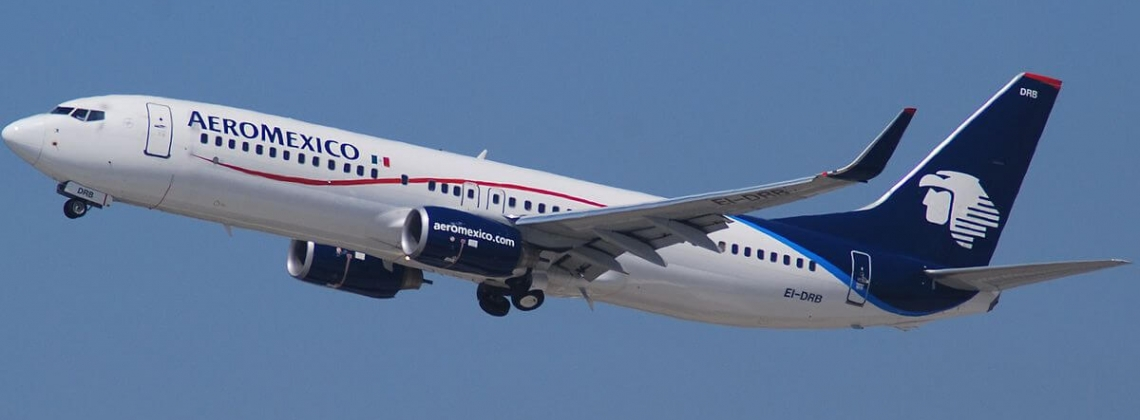 Aeromexico Boeing 737 lands with a mysteriously damaged nose