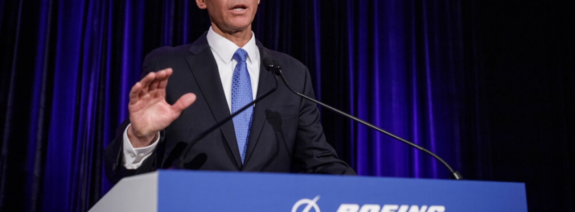 Boeing CEO: MAX grounding ‒ defining moment for the company