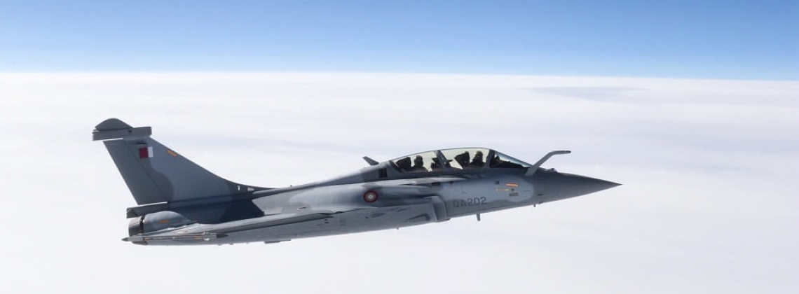 Qatar Air Force gets first Rafale for its fighter jet cocktail