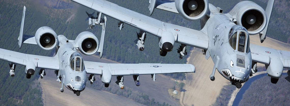 USAF A-10 accidentally releases three dummy bombs on Florida
