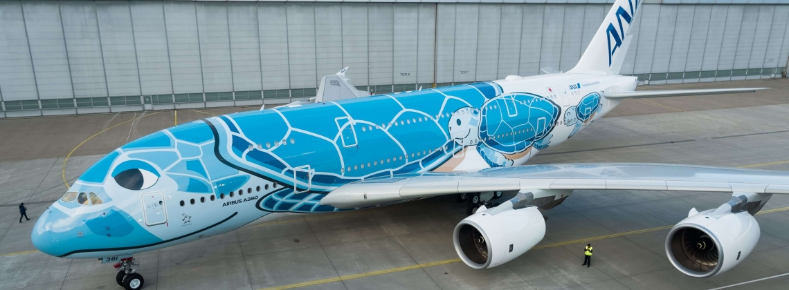 All Nippon Airways becomes the last new operator of the A380