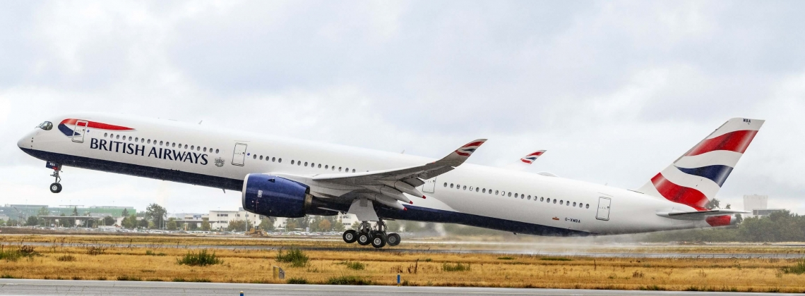 First Airbus A350-1000 for British Airways [Video]