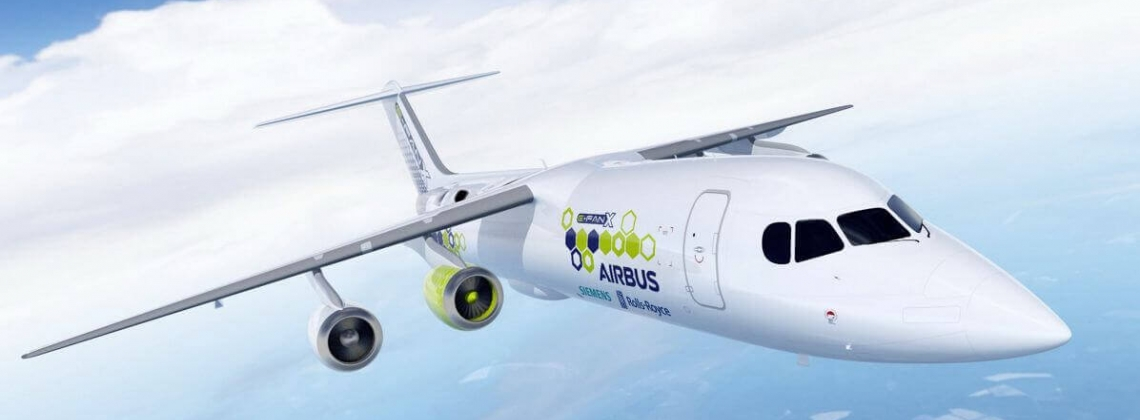 Airbus, Rolls-Royce, and Siemens working on electric plane