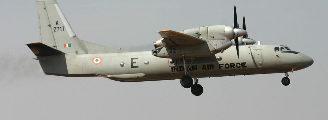 Indian Air Force An-32 carrying 13 people on board still missing