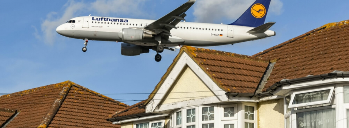 Why is reducing noise pollution crucial for aviation?