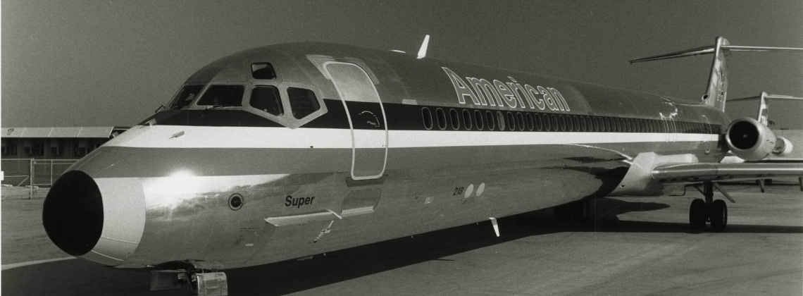 American Airlines waves goodbye to its 80s workhorse