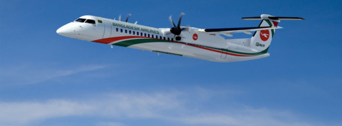Biman Bangladesh Airlines orders three Bombardier Q400s