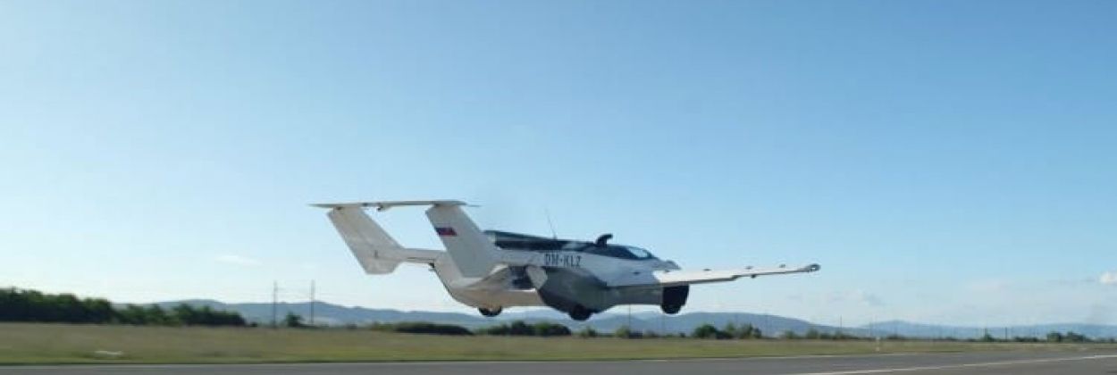 Klein Vision's flying car takes to the skies for the first time