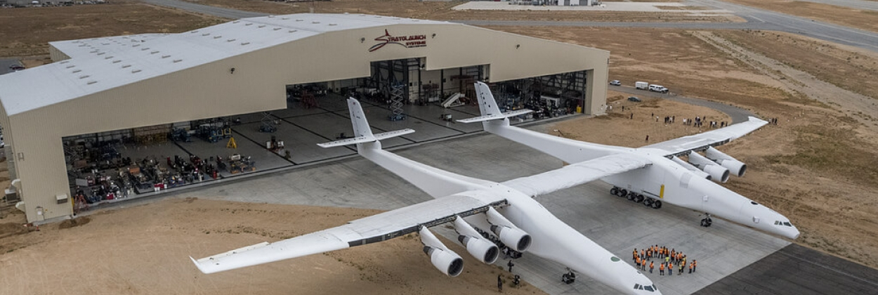 Stratolaunch aircraft reaches 90mph during ground tests