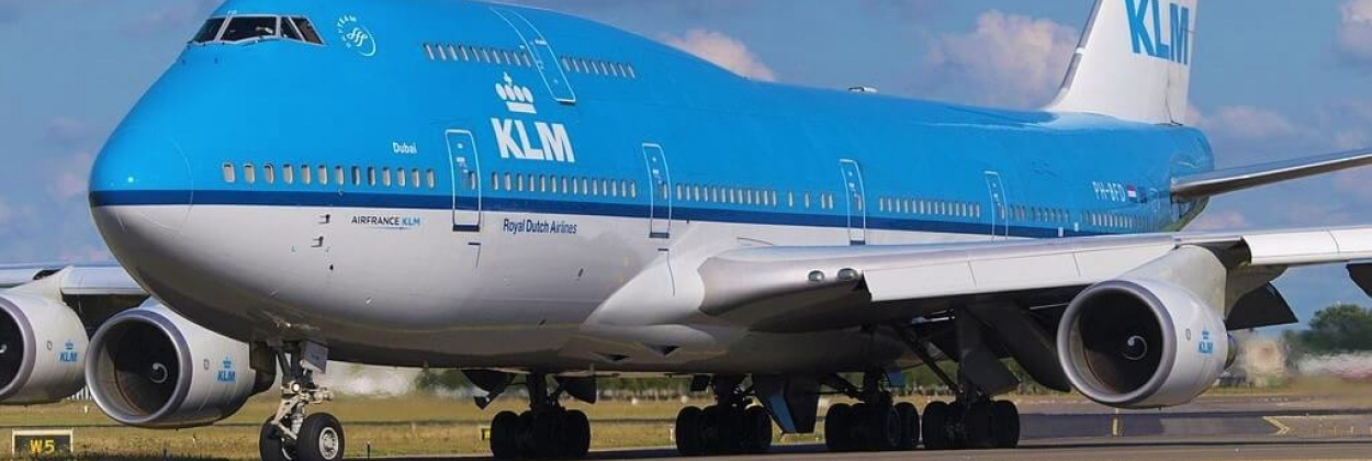 Royal Dutch Airlines Boeing 747