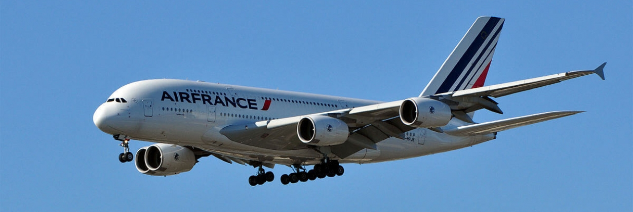 Engine part of Air France A380 found under Greenland ice