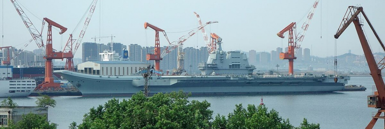Not a casino this time: China launches second aircraft carrier