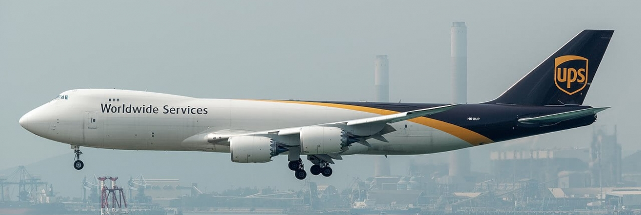 Queen lives on in cargo: brand new Boeing 747-8F joins UPS fleet