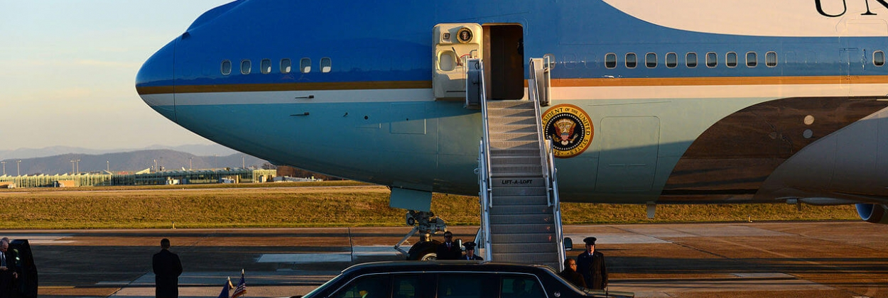 Air Force One, the flying White House