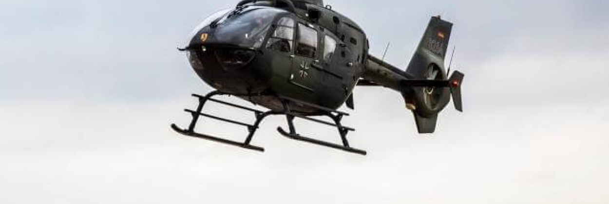 German armed forces EC-135 helicopter crashes during training