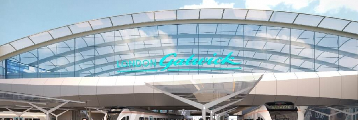 Gatwick Airport, pax up by 7.1% in 2016